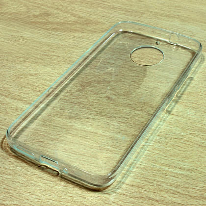iGadgitz Glossy TPU Gel Skin Case Cover for Motorola Moto G5S (Also known as Lenovo Moto G5S) + Screen Protector Thumbnail 2