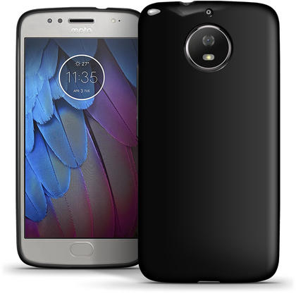iGadgitz Glossy TPU Gel Skin Case Cover for Motorola Moto G5S (Also known as Lenovo Moto G5S) + Screen Protector Thumbnail 4