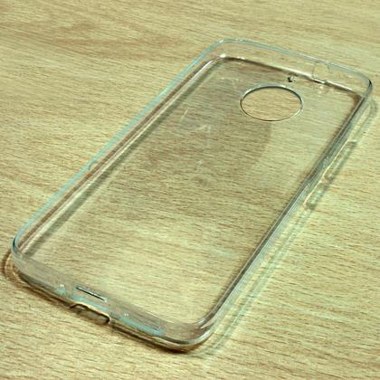 iGadgitz Glossy TPU Gel Skin Case Cover for Motorola Moto G5S Plus (Lenovo Moto G5S Plus) + Screen Protector Thumbnail 2