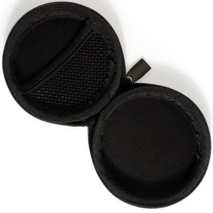 iGadgitz Black EVA Zipper Carrying Hard Case Cover for Sony h.ear in NC XBA-H1 EX650AP EX450 MDR-EX110AP Earphones Thumbnail 4
