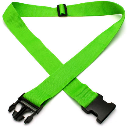 CampTeck Long Travel Luggage Straps Adjustable Suitcase Safety Belts? Green, 1 Pair Thumbnail 3
