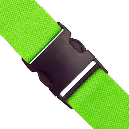 CampTeck Long Travel Luggage Straps Adjustable Suitcase Safety Belts? Green, 1 Pair Thumbnail 4
