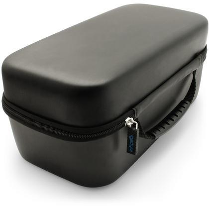 iGadgitz U6763 EVA Carrying Hard Travel Case Cover for Sony LF-S50G Smart Speaker - Black Thumbnail 3