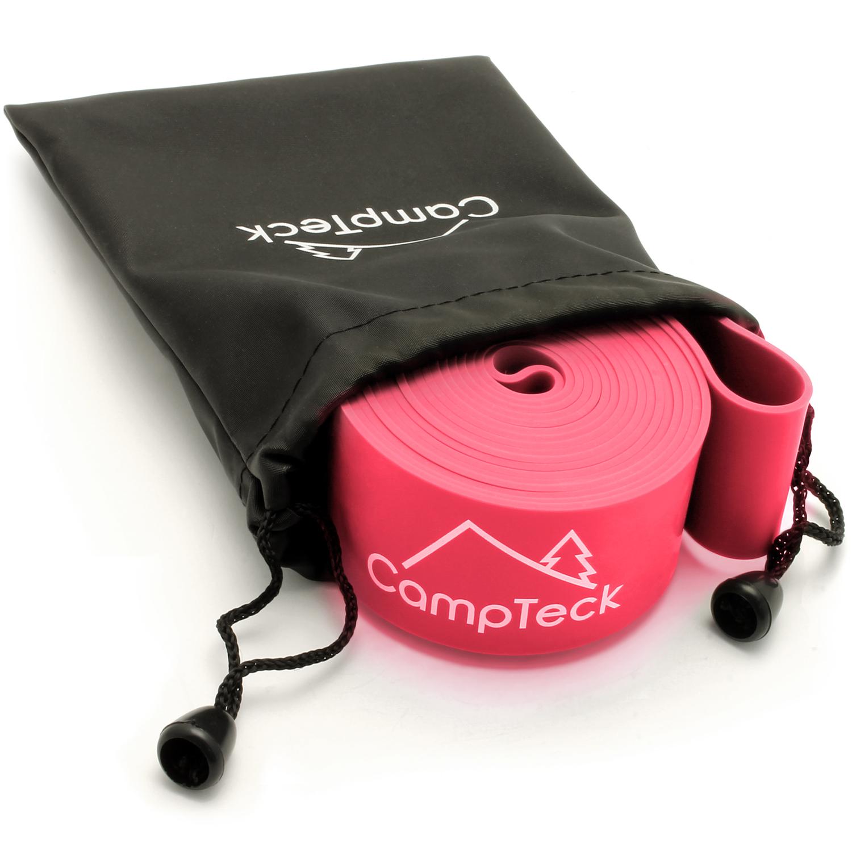 CampTeck Elastic Stretch Band for Ballet Dance Yoga Aerobics Workout Pilates Flexibility etc. ? Multi Sizes & Colours