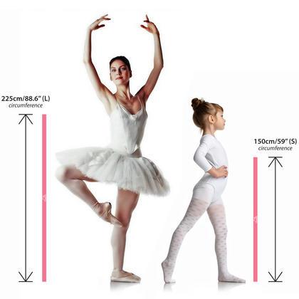 CampTeck Elastic Stretch Band for Ballet Dance Yoga Aerobics Workout Pilates Flexibility etc. ? Multi Sizes & Colours Thumbnail 2