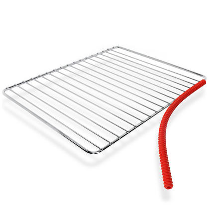 iGadgitz Home U6785 Silicone Oven Rack Guard BPA-Free Oven Rack Shields Burns and Scars Protector ? Red, 2 Pieces Thumbnail 2