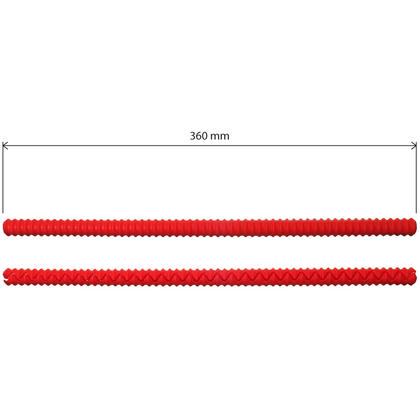 iGadgitz Home U6785 Silicone Oven Rack Guard BPA-Free Oven Rack Shields Burns and Scars Protector ? Red, 2 Pieces Thumbnail 4