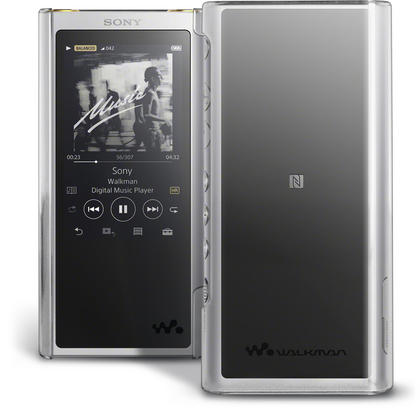 iGadgitz U6873 Clear PC Hard Back Case Cover for Sony Walkman NW-ZX300 MP3 Player Protective Shell + Screen Protector Thumbnail 1