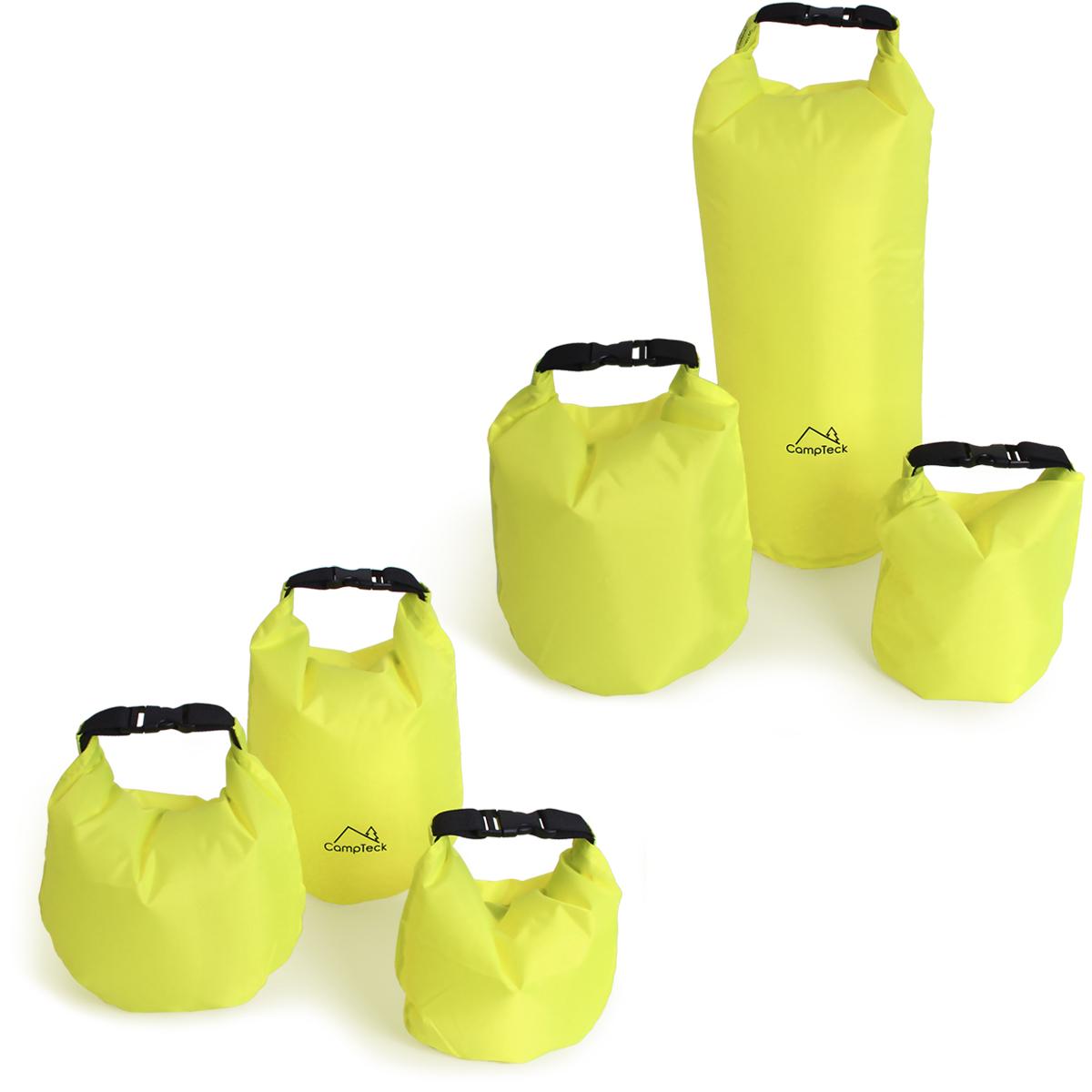 CampTeck Dry Sack Water Resistant Storage Dry Bag for Camping, Rafting, Fishing, Canoeing, Boating, Kayaking etc.