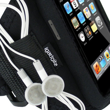 iGadgitz Water Resistant Neoprene Sports Armband for iPod Touch 1st, 2nd, 3rd and 4th Generation 8gb, 16gb, 32gb & 64gb Thumbnail 2