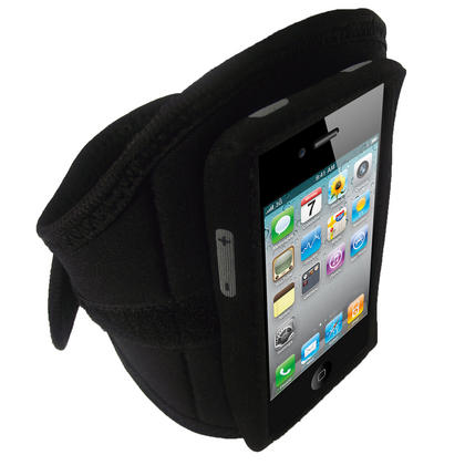 iGadgitz Water Resistant Neoprene Sports Armband for iPod Touch 1st, 2nd, 3rd and 4th Generation 8gb, 16gb, 32gb & 64gb Thumbnail 3