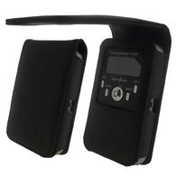 iGadgitz Genuine Leather Case Cover for Pure Pocket DAB 1500 Radio
