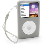 iGadgitz Clear Armband & Silicone Skin for Apple iPod Classic 80gb, 120gb & latest 160gb + Screen Protector & Lanyard