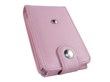 iGadgitz Pink PU Leather Case for Apple iPod Classic 80gb, 120gb & latest 160gb + Belt Clip & Screen Protector Thumbnail 4