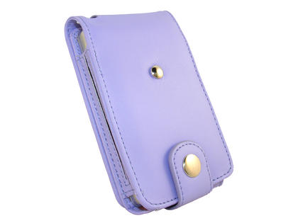 iGadgitz Purple PU Leather Case for Apple iPod Classic 80gb, 120gb & latest 160gb + Belt Clip & Screen Protector Thumbnail 4