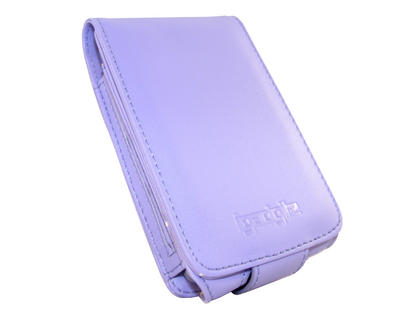 iGadgitz Purple PU Leather Case for Apple iPod Classic 80gb, 120gb & latest 160gb + Belt Clip & Screen Protector Thumbnail 3