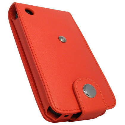 iGadgitz Red PU Leather Case Cover for Apple iPhone 3G & 3GS 8gb 16gb & 32gb + Screen Protector + Detachable Belt-Clip Thumbnail 3