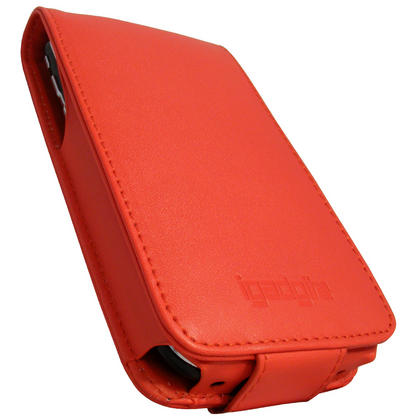 iGadgitz Red PU Leather Case Cover for Apple iPhone 3G & 3GS 8gb 16gb & 32gb + Screen Protector + Detachable Belt-Clip Thumbnail 2