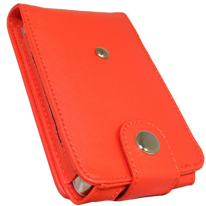 iGadgitz Red PU Leather Case for Apple iPod Classic 80gb, 120gb & latest 160gb + Belt Clip & Screen Protector Thumbnail 3