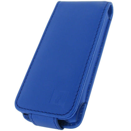 iGadgitz BLUE PU Leather Case for Apple iPod Nano 5th Gen (with Video Camera) + Detachable Carabiner Thumbnail 2