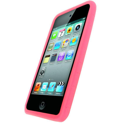 iGadgitz Pink Silicone Skin Case for Apple iPod Touch 2nd & 3rd Generation 8gb, 16gb, 32gb & 64gb + Screen Protector Thumbnail 2