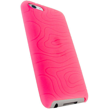 iGadgitz Pink Silicone Skin Case for Apple iPod Touch 2nd & 3rd Generation 8gb, 16gb, 32gb & 64gb + Screen Protector Thumbnail 3