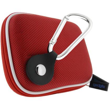 iGadgitz Red EVA Travel Hard Case Cover for Digital Cameras / Video Pocket Camcorders Thumbnail 2