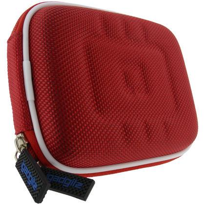 iGadgitz Red EVA Travel Hard Case Cover for Digital Cameras / Video Pocket Camcorders Thumbnail 3