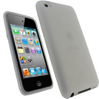 iGadgitz Clear Silicone Skin Case Cover for Apple iPod Touch 4th Generation 8gb, 32gb, 64gb + Screen Protector