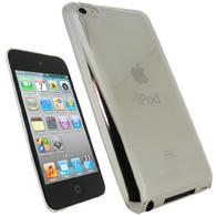 iGadgitz Clear Crystal Hard Case Cover for Apple iPod Touch 4th Generation 8gb, 32gb, 64gb + Screen Protector