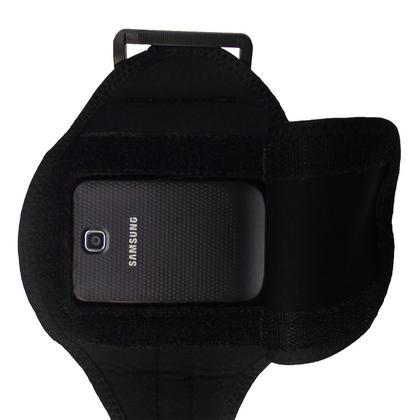 iGadgitz Black Water Resistant Neoprene Sports Armband for Samsung Galaxy Mini S5570 Thumbnail 5