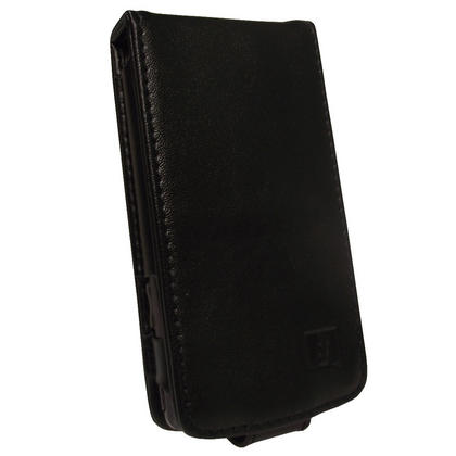 iGadgitz Black Genuine Leather Case Cover for Archos 32 Android Internet Tablet 8gb Thumbnail 2