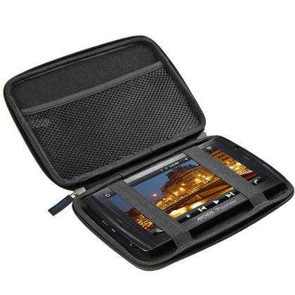 "iGadgitz Black EVA Hard Case for HTC Flyer 7"" Tablet, Archos 70 Internet Tablet 8gb & 250gb & Archos 7 Home Tablet 8gb Thumbnail 3"