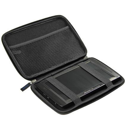 "iGadgitz Black EVA Hard Case for HTC Flyer 7"" Tablet, Archos 70 Internet Tablet 8gb & 250gb & Archos 7 Home Tablet 8gb Thumbnail 2"