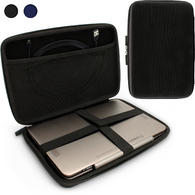 iGadgitz Black EVA Travel Hard Case Cover Sleeve for Sony Xperia Z & Z2 Tablet & Acer Iconia Tab A500 A501 A200 10.1""