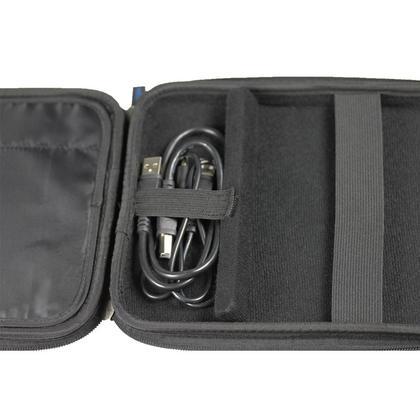 iGadgitz Black EVA Travel Hard Case Cover Sleeve for External DVD CD Blu-Ray Rewriter / Writer Thumbnail 5