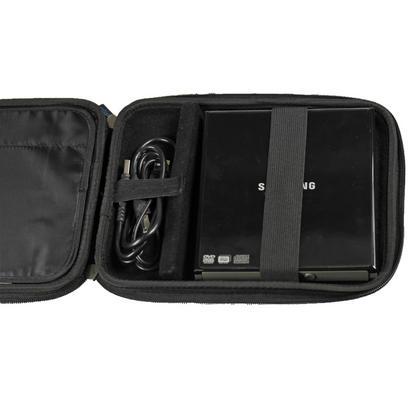 iGadgitz Black EVA Travel Hard Case Cover Sleeve for External DVD CD Blu-Ray Rewriter / Writer Thumbnail 4