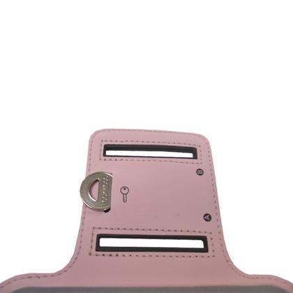 iGadgitz Pink Reflective Anti-Slip Neoprene Sports Gym Jogging Armband for Apple iPhone SE, 5S, 5, 5C Thumbnail 4
