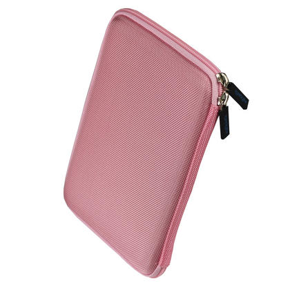"iGadgitz Pink EVA Travel Hard Case Sleeve for New Amazon Kindle 4 Wi-Fi 6"" eReader (Released October 2011) Thumbnail 2"