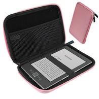 "iGadgitz Pink EVA Travel Hard Case Sleeve for New Amazon Kindle 4 Wi-Fi 6"" eReader (Released October 2011)"