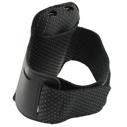 iGadgitz Black Reflective Anti-Slip Neoprene Sports Armband for Samsung Galaxy S2 i9100 Thumbnail 2