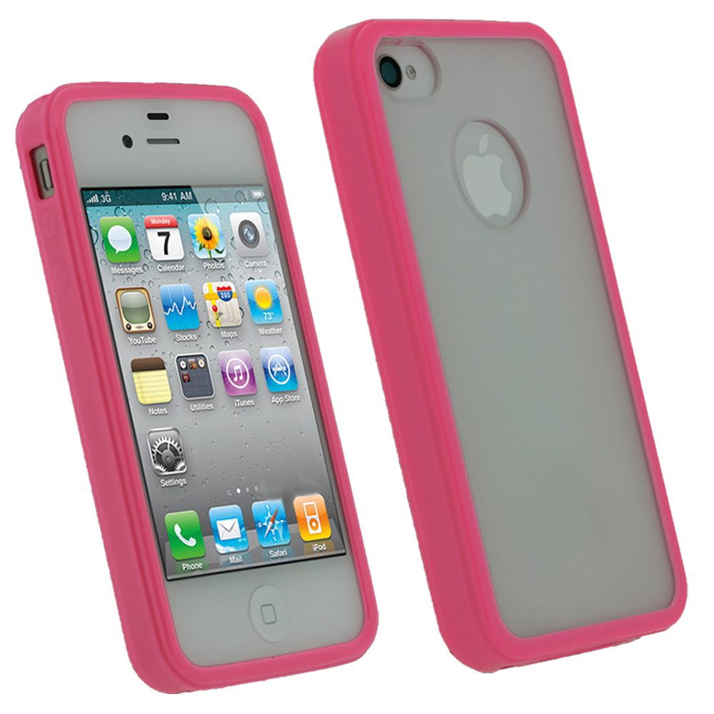 iphone 4s 64gb igadgitz pink amp gel tpu edged cover for apple 9980