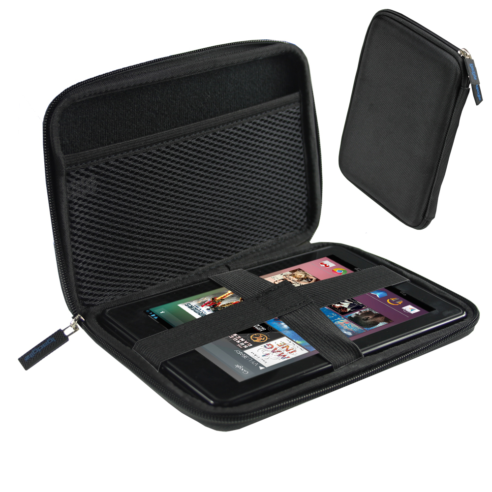 "iGadgitz Black Travel Hard Case for Asus Fonepad ME371MG 7"" Tablet 16GB 32GB & Asus MeMo Pad ME172V 7"" Tablet 16GB 32GB"