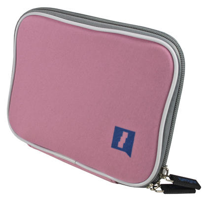 iGadgitz Pink Neoprene Sleeve Case for Samsung Galaxy Tab P1000 GT-P6200 GT-P6210 7.0 & Tab 2 GT-P3100 GT-P3110 Tablet Thumbnail 3