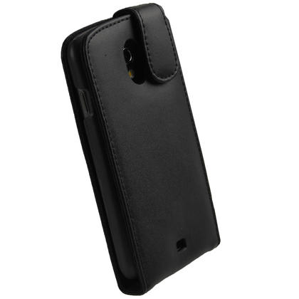 iGadgitz Black Leather Case Cover Holder for Samsung Galaxy Nexus i9250 + Screen Protector Thumbnail 3
