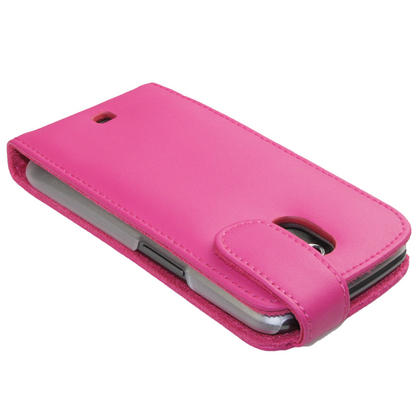 iGadgitz Pink Leather Case Cover Holder for Samsung Galaxy Nexus i9250 + Screen Protector Thumbnail 5