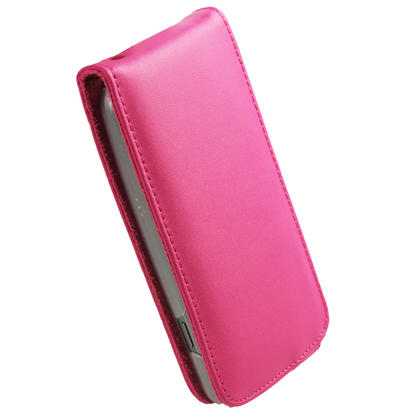 iGadgitz Pink Leather Case Cover Holder for Samsung Galaxy Nexus i9250 + Screen Protector Thumbnail 2