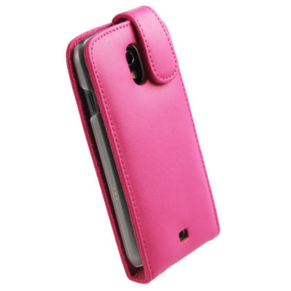 iGadgitz Pink Leather Case Cover Holder for Samsung Galaxy Nexus i9250 + Screen Protector Thumbnail 3