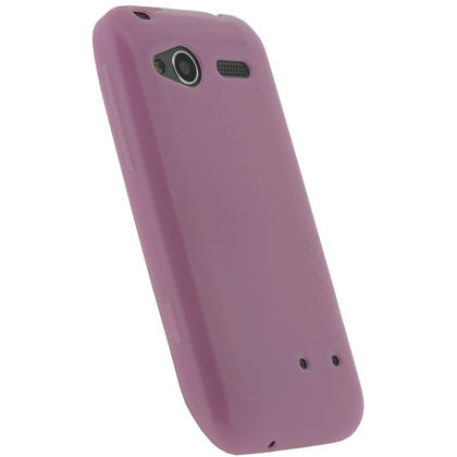 iGadgitz Pink Glossy Gel Case for HTC Radar C100e + Screen Protector Thumbnail 3