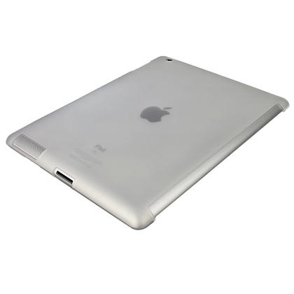 iGadgitz Clear Tough Gel TPU Back Cover for Apple iPad 3 & 4 + Screen Prot. For use with Apple Smart Cover Thumbnail 5